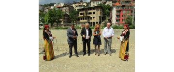 Project Flood Protection: The retaining wall of Dr. Petar Beron Street in Smolyan was officially opened