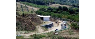 Progress of works on the hill Kasta (Amphipoli, Greece)